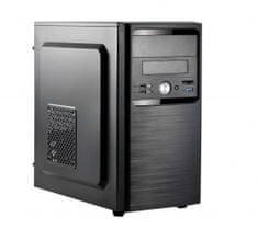 Spire kućište TRICER 1411, USB3 mATX, črno