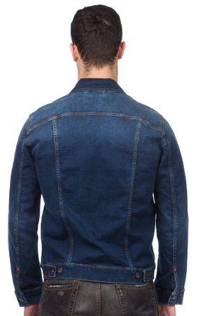 Mustang férfi kabát M kék  04cc54a09e