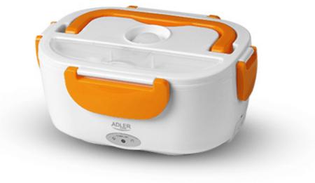Adler električna kutija za užinu AD4474, 1,1 L, narančasta