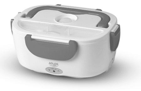 Adler električna kutija za užinu AD4474, 1,1 L, siva