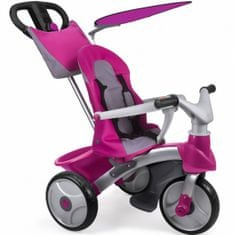 Feber tricikel Easy Evolution, roza