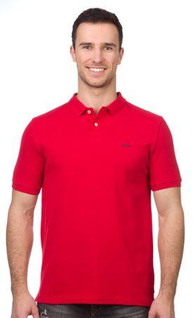 s.Oliver férfi galléros póló S piros