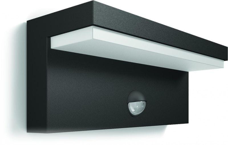 Philips Bustan nástěnné LED svítidlo s čidlem 16484/93/P3
