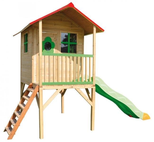 TRIGANO Domek dřevěný ARMELLEP na chůdách