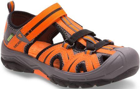 Merrell sandali Hydro Hiker, oranžni/sivi, 38