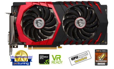 MSI GeForce GTX 1060 GAMING X 6G, 6GB GDDR5 (GTX 1060 GAMING X 6G)