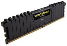 Corsair pomnilnik Vengeance LPX Black 16GB (2x8GB) DDR4 2133 (CMK16GX4M2A2133C13)