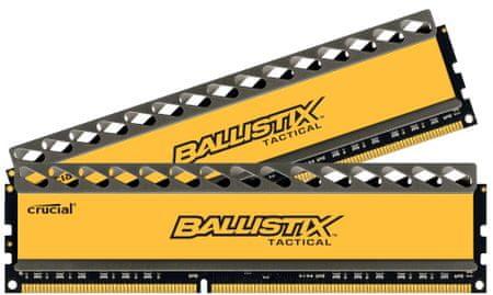 Crucial Ballistix Tactical 8GB (2x4GB) DDR3 Memória, 1600 Mhz