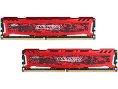 Crucial Ballistix Sport LT Red 16GB (2x8GB) DDR4 2400 (BLS2C8G4D240FSE)