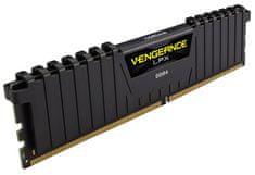 Corsair memorija (RAM) Vengeance Black 16GB (2x8GB) DDR4 2400 XMP