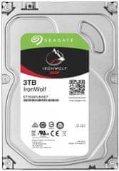 Seagate  trdi disk IronWolf 3TB, SATA III, 3.5, 5900
