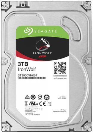 Seagate IronWolf - 3TB (ST3000VN007)