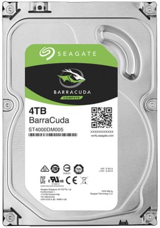 Seagate trdi disk BarraCuda 4 TB, 3,5 (ST4000DM005)