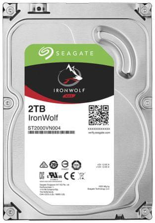 Seagate  trdi disk IronWolf 2TB, SATA III, 3.5, 5900