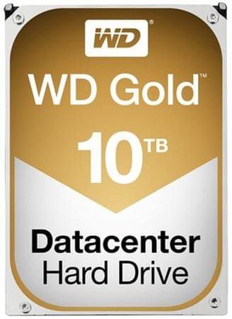WD trdi disk Gold 10 TB SATA3 6Gb/s (WD101KRYZ)