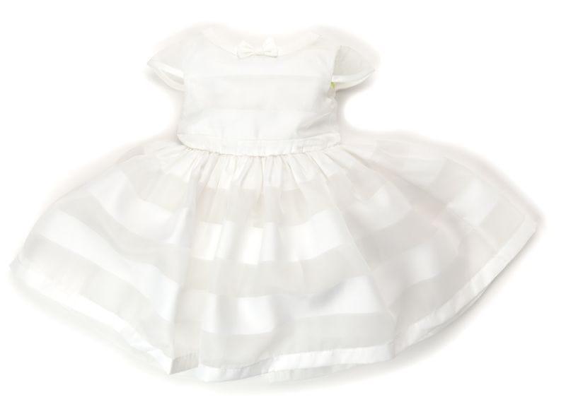 Primigi dívčí šaty 74 bílá