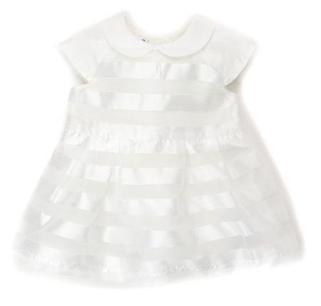 Primigi dekliška obleka 56 bela