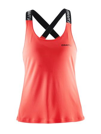 Craft majica brez rokavov Pure Elastic Tank, ženska, M oranžna