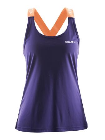 Craft majica brez rokavov Pure Elastic Tank, ženska, XL vijolična