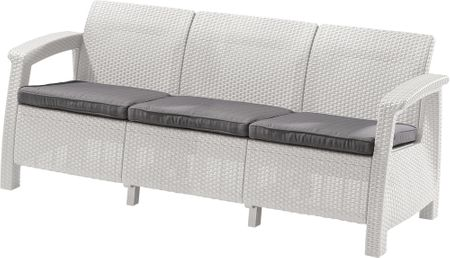 Allibert trosed Corfu Love Seat MAX, bel (223205)