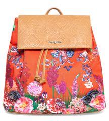 Desigual vícebarevný dámský batoh Sintra Ikebana