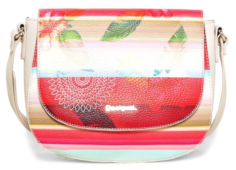 Desigual vícebarevná kabelka Varsovia Polynesia