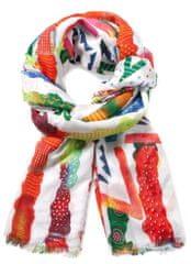 Desigual dámský vícebarevný šátek Soft New Marine