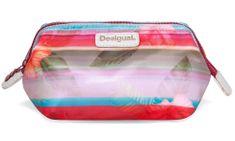 Desigual kozmetična torbica Ligero Polynesia, večbarvna, ženska