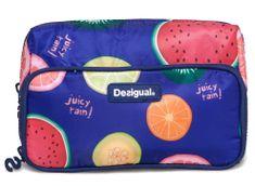 Desigual kozmetična torbica Two Pockets Fruits, ženska