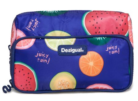 Desigual kozmetična torbica Two Pockets Fruits, ženska