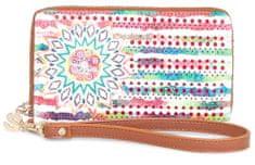 Desigual dámská vícebarevná peněženka Mini Zip New Marine