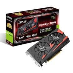Asus grafična kartica GeForce GTX 1050 Ti Expedition OC 4GB GDDR5 (90YV0A54-M0NA00) - Odprta embalaža