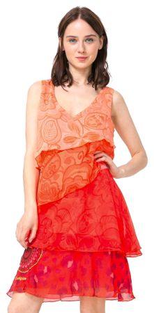 Desigual dámské šaty Nerea 38 vícebarevná