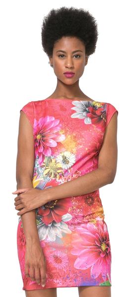 Desigual dámské šaty Pichi Luka S vícebarevná
