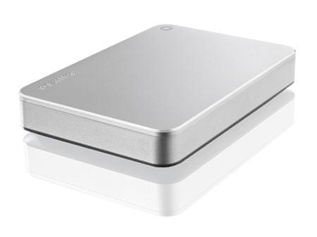 Toshiba zunanji disk 1TB Canvio Premium 2,5, USB 3.0 Type-C, backup&lock software, srebrn