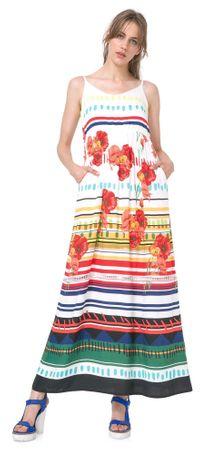 Desigual sukienka damska Sofia 40 wielokolorowy