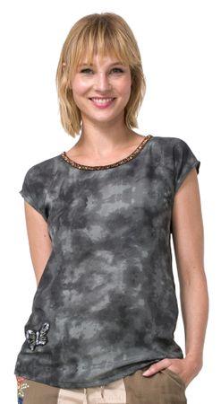 Desigual ženska majica North Dakota S kaki