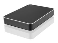 TOSHIBA vanjski disk 2 TB Canvio Premium 2,5, USB 3.0 Type-C, backup&lock software, metalik srebrni