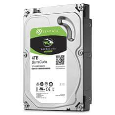 "Seagate tvrdi disk BarraCuda 3,5"", 4TB, SATA3, 6GB/s, 64MB, 7200 okretaja"
