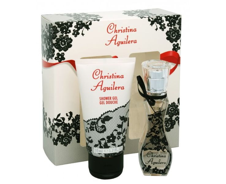 Christina Aguilera - EDP 15 ml + sprchový gel 50 ml
