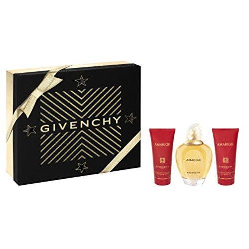 Givenchy Amarige - EDT 100 ml + sprchový gel 75 ml + tělový závoj 75 ml