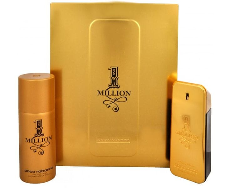 Paco Rabanne 1 Million - EDT 100 ml + deodorant ve spreji 150 ml