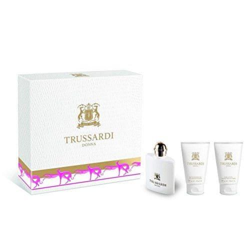 Trussardi Donna 2011 - EDP 30 ml + sprchový gel 30 ml + tělové mléko 30 ml