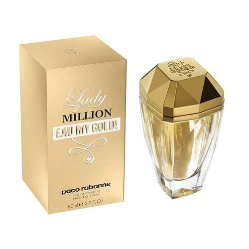Paco Rabanne Lady Million Eau My Gold! - EDT 80 ml