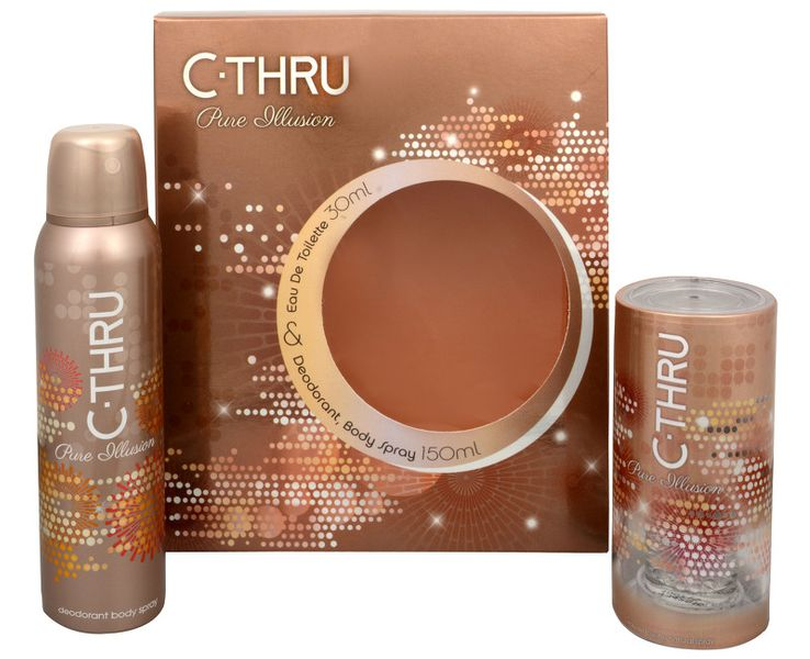 C-Thru Pure Illusion - EDT 30 ml + deodorant ve spreji 150 ml