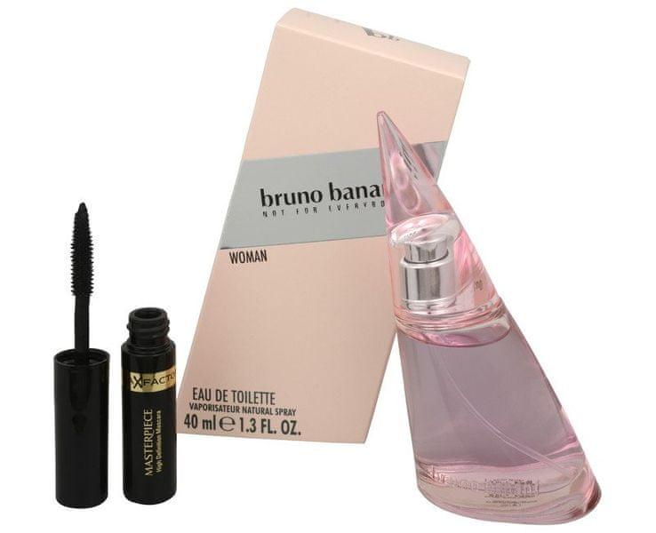 Bruno Banani Woman - EDT 40 ml + řasenka