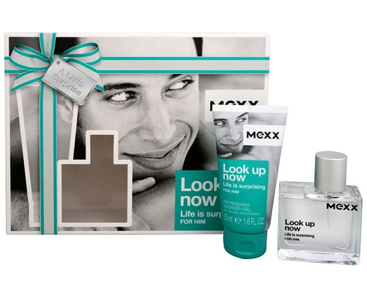 Mexx Look Up Now For Him - EDT 30 ml + sprchový gel 50 ml