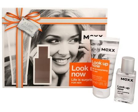 Mexx Look Up Now For Her - EDT 15 ml + telové mlieko 50 ml