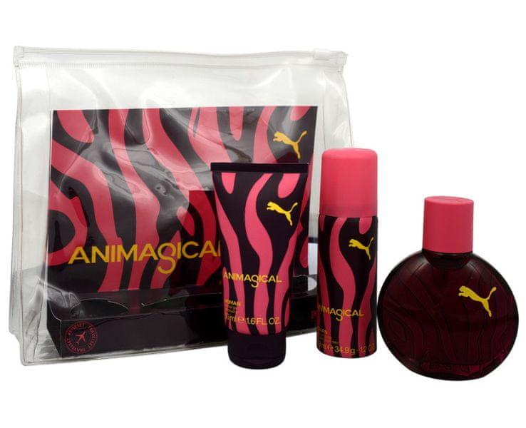 Puma Animagical Woman EDT 40 ml + sprchový gel 50 ml + deodorant 50 ml