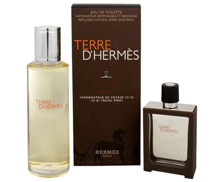 Hermès Terre D´ Hermes - EDT 30 ml (plnitelná) + EDT 125 ml (náplň)